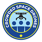 Crowded Space Drones